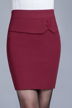 $ 32.29 Vogue Winter High Waist Step Skirt