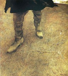Andrew Wyeth. Trodden Weed