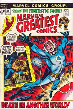 Marvel's Greatest Comics #38. Reprints Fantastic Four #51  1st Appearance of the Negative Zone. This Man ... This Monster.