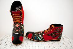 Sapato de palhaço - Mestre Espedito Seleiro