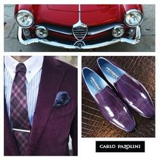 Say no to office-style! Stand out of the crowd and be faithfull to your own style! For those who wanna be another trend! #cp #carlopazolini #carlopazolinishoes #man #gentlemen #handsome #suit #suitup #look #like #lifestyle #car #red #purple #tie #office #awesome #amazing #trend #trendy #style