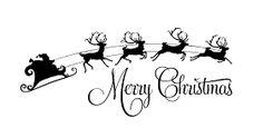 vinyl+Merry+Christmas+reindeer+and+santa.png (281×138)