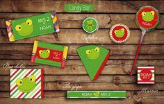 #Kit #Cumple #Candy #Bar #sapo #pepe Etiquetas para golosinas. #tita #rhodesia #layapa #turron #picodulce #paleta #marroc #imprimible #fiesta #cumple #infantil