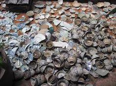 Melaka: Porcelain bowls from China brought through the Strait of Melaka during Indian Ocean Trade