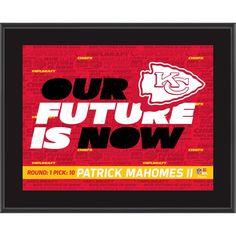 d40c0090b6d Patrick Mahomes II Kansas City Chiefs Fanatics Authentic 10.5