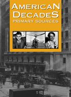 American Decades Primary Sources is a ten-volume collection of more than two thousand primary sources on twentieth-century American history and culture. Look for this electronic resource in Gale Virtual Reference Library database..