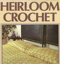 Vintage Crochet Magazine Heirloom Crochet  by TheOldBarnDoor