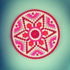Mandala hama perler beads by annepovlsen | Make it -kids | Pinterest
