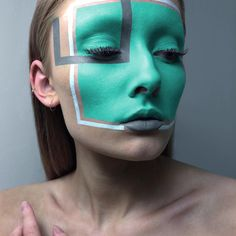 Laura is based in Edmonton, Canada, and specializes in face painting with a twist. She takes this classic art form and transforms it into a modern statement, creating stunning mask-like marvels. More: http://blog.furlesscosmetics.com/laura-kalmakoff/