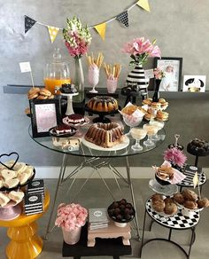 For Brie& Birthday, celebrating a new decade with champagne and lush garden details was a must. She gathered her nearest and dearest for a candlelight backyard celebration topped of with not one but two gorgeous cakes. What better way to ring 30th Birthday, Birthday Celebration, Birthday Parties, Cake Table, Dessert Table, Cakes For Boys, Event Decor, Party Time, Table Decorations