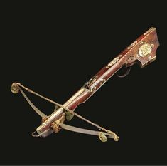 A SAXON SPORTING CROSSBOW -  Second quarter of the 18th Century