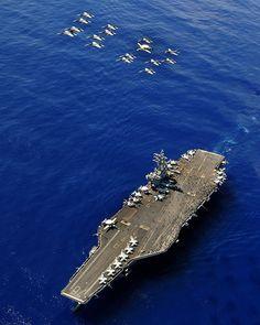 USS Ronald Reagan at Sea