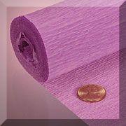 Premium & Heavy Crepe Paper - Mauve
