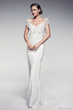 pallas couture wedding dresses 2014 fleur blanche bridal maiya short sleeve sheath