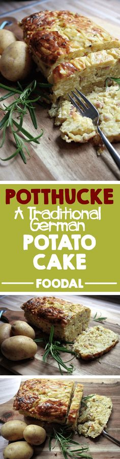 Although the German potthucke started out as a poor person's fare, it has become a popular dish for German restaurants, offering different variations and presenting it as an almost gourmet food. Read about this fine German fare now. German Potato Cake Recipe, German Recipes, Austrian Recipes, French Recipes, Potato Dishes, Potato Recipes, Chicken Recipes, 21 Day Fix, German Potatoes