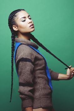 Braids ¤ Twist ( Natural Hair & Protective Styles ) Cornrows