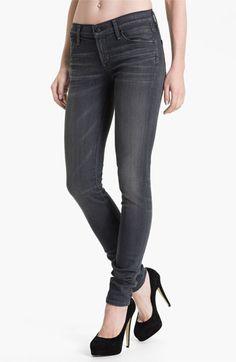 Citizens of humanity skinny stretch denim jeans - (flint) Um....Yes, please! :)