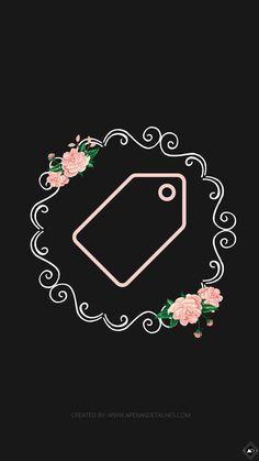 Instagram Logo, Instagram Story, Insta Icon, Floral Logo, Cute Disney Wallpaper, Instagram Highlight Icons, Story Highlights, Pink Flowers, Logo Design