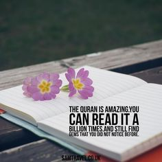 The Quran is amazing.you can read it a billion times.and still find gems that you did not notice before. #islam #muslim #islamic #islamicquotes #islamicreminder #muslimah #muslims #muslimquotes #allah #muhammad #muhammadsaw #quran #instaislam #pray #ummah #muhammed #instagood #prayer