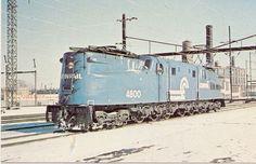 Conrail Repaint of PRR GG1 Electric Locomotive.