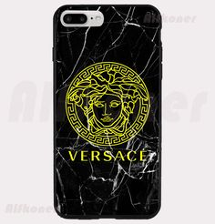 New Versace Logo Black Marble Custom Design Hardcase For iPhone6/s plus | eBay
