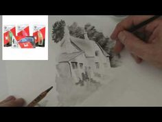 ▶ Working with Derwent Graphatone Water Soluble Graphite Woodless Pencils - Tips Tricks & Techniques - Rob & Mark - YouTube
