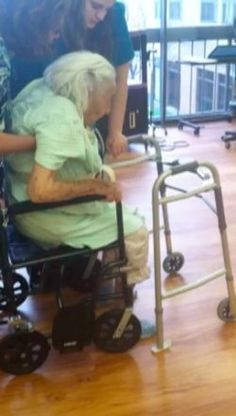 """Preventing falls in the elderly: I thought I knew everything there was to know about preventing falls in the elderly until Mom went """"boom"""" in the bathroom. I had bathroom grab..."""