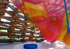 Hakone – Japan's Amazing Open Air Museum ~ Kuriositas. Castle of Nets (for children to climb on) Places Around The World, Oh The Places You'll Go, Around The Worlds, Hakone Japan, Balance Art, Kids Play Area, World Of Color, Design Museum, Summer Travel
