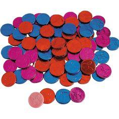 Bubble Gum Easter Coins - OrientalTrading.com