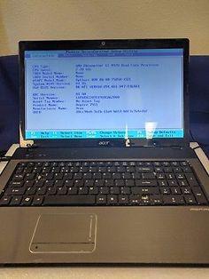 """Acer Aspire 7551 Laptop/AMD Phenom II N970 Quad-Core 2.2 GHz/17.3""""/DVDRW/4GB/PnR"""