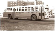 QUEENS  NASSAU  TRANSIT  LINES  OLD  LOOK  GMC
