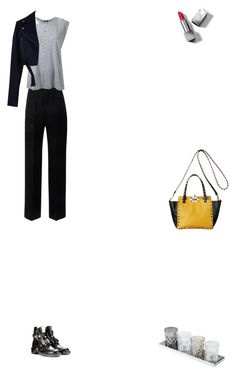 """""""Grace"""" by zoechengrace ❤ liked on Polyvore featuring Lanvin, R13, TIBI and Burberry"""