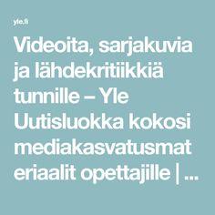 Videoita, sarjakuvia ja lähdekritiikkiä tunnille – Yle Uutisluokka kokosi mediakasvatusmateriaalit opettajille   Yle Uutiset   yle.fi