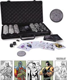 dc comics super villains poker set forbidden planet christmas presents 2015 poker set - Best Christmas Presents 2015