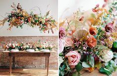 Absolutely Autumnal: Colorful Fall Elopement Inspiration with Modern Twist - Green Wedding Shoes
