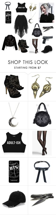 """Don't mess with me"" by kry091603 ❤ liked on Polyvore featuring Via Spiga, Express, WithChic and The Kooples"