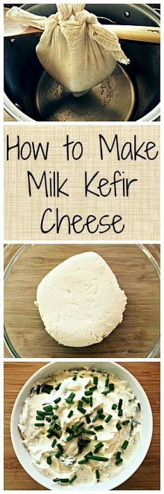 Milk Kefir Cheese is one of the easiest homemade cheeses that you can make, plus it's full of healthy probiotics!