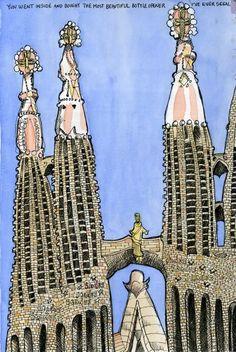 16 Beste Afbeeldingen Van Barcelona Sketchbook Ideas