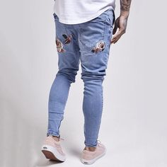Follow @hoodstore now for the best denim track pants and more! Order now online : www.hoodstore.com