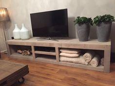 Tv Furniture, Diy Furniture Easy, Diy Furniture Projects, Living Room Tv, Living Room Interior, Home Interior Design, Decoration Palette, Wooden Sofa Set Designs, Wooden Tv Stands