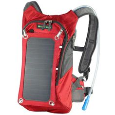 The Solar Backpack - 6.5W Solar Panel With USB Charger