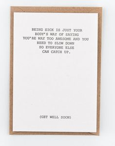 Studio flash letterpress cards get well soon All our products are made with lots of love in Belgium. Our letterpress greeting cards are pure...