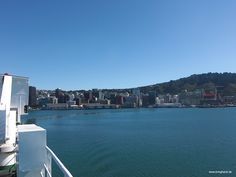 Ablegen mit der Fähre von Wellington.  #Fähre #Neuseeland #Tasmanien #Australien #Transport #Reisen