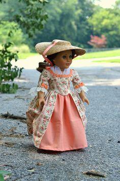 $87.40Colonial Dress & Hat for American Girl Felicity, Pemberley