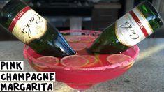 Pink Champagne Margarita - Tipsy Bartender