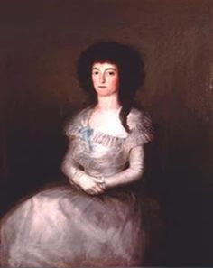 María Teresa Apodaca de Sesma de Goya localizada en Viena - Austria
