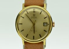 OMEGA  wach gold. Joiencis Encants Barcelona. www.joiencis.com