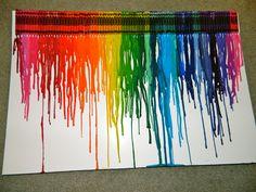 216 Best Crayon Art Images Crayon Art Melting Crayons Art