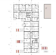 ru projects world Parking Plan, Hotel Floor Plan, Architecture Résidentielle, Architecture Presentation Board, Residential Complex, Brick Facade, Social Housing, Apartment Plans, Affordable Housing