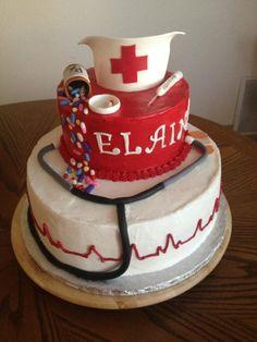 nursing school cake - Google Search